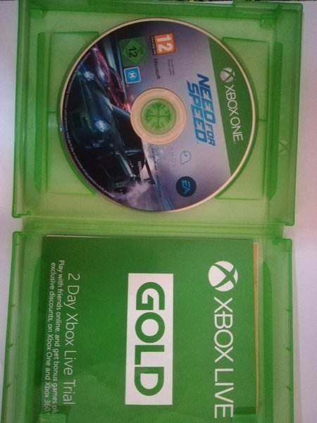 Used Need For Speed XBOX ONE Game in Dubai, UAE