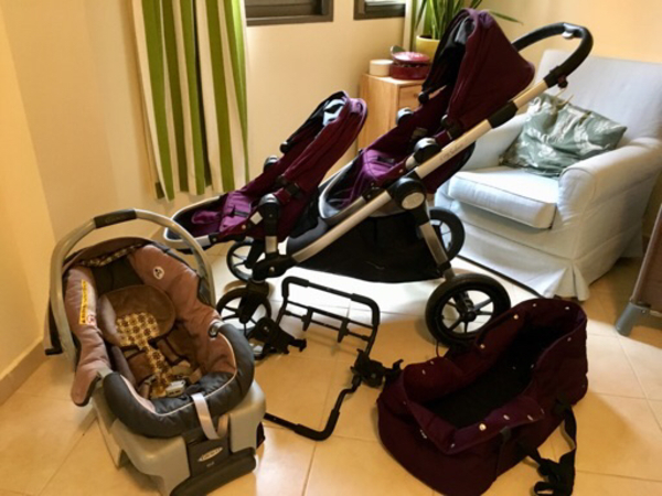 Used Baby Jogger city Select double stroller  in Dubai, UAE