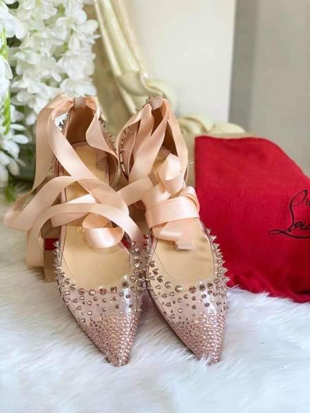 Used Christian Louboutin dolls shoes in Dubai, UAE