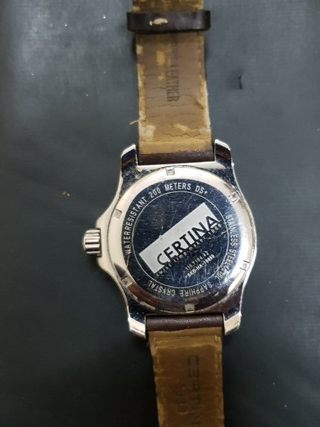 Used CERTNIA DS first Swiss Watch in Dubai, UAE