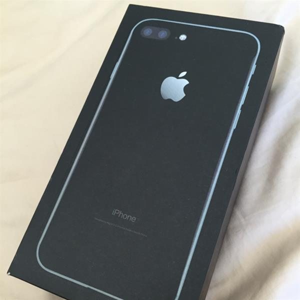 "Used Unused ""Jet Black"" IPhone 7 Plus 128GB - got an iPhone the same day, reason for selling. in Dubai, UAE"