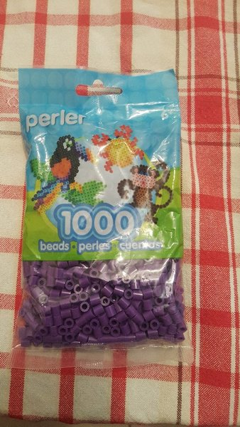 Used Perler beads Purple in Dubai, UAE