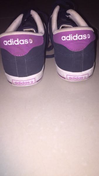 Used Adidas shoes. Blue & pink.As good as new in Dubai, UAE