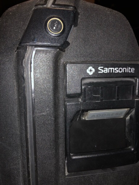 Used Samsonite Travel Bag in Dubai, UAE