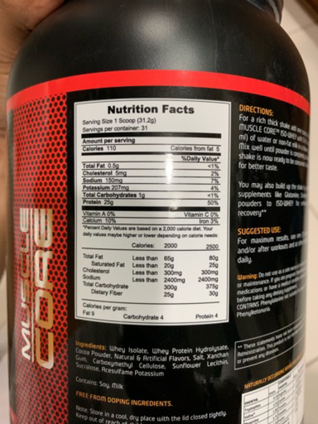 Used Brand New Sealed Muscle Core Protien in Dubai, UAE