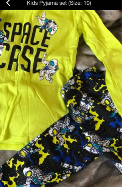 Used 2 sets kids pyajama set in Dubai, UAE