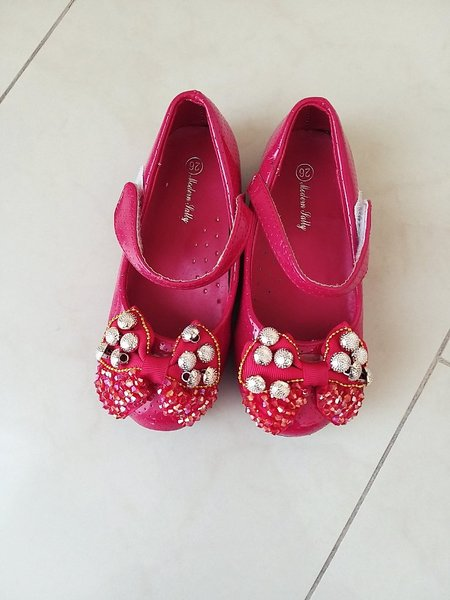 Used Baby Girl Cute shoes size 26 in Dubai, UAE