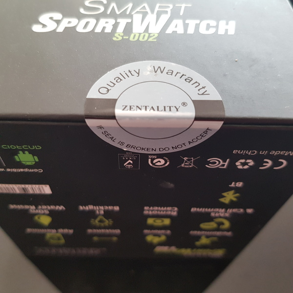 Used New Sporty smart watch sealed pack in Dubai, UAE