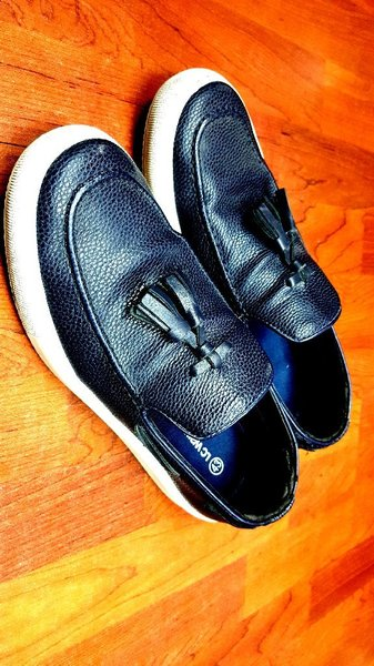 Used Leather Loafers Made in turkey size 43 in Dubai, UAE
