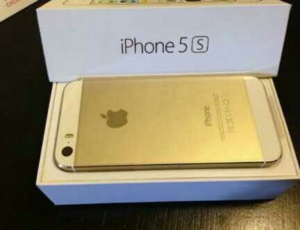 Used IPhone 5-S Gold Premium Grade-Korea in Dubai, UAE