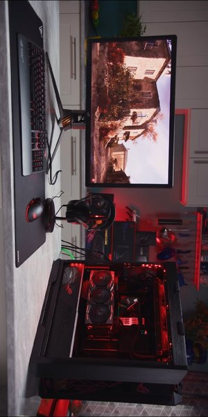 Used Asus ROG LTT Gaming PC Limited Edition in Dubai, UAE