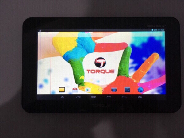 Used Torque droidz duo TV+ tablet in Dubai, UAE