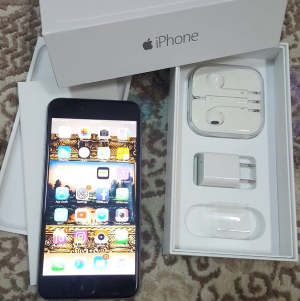 Used iphone 6plus 128gb space grey color, with full accessories and box, condition 9.5/10. Note:- Original Box accessories included, Handsfree/Charger never used all packed as bought. in Dubai, UAE