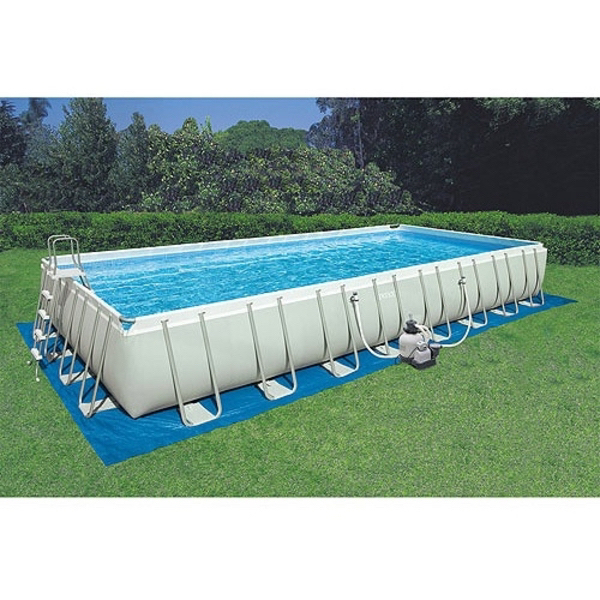 Used Intex pool 16ft by 36ft send UR offer in Dubai, UAE
