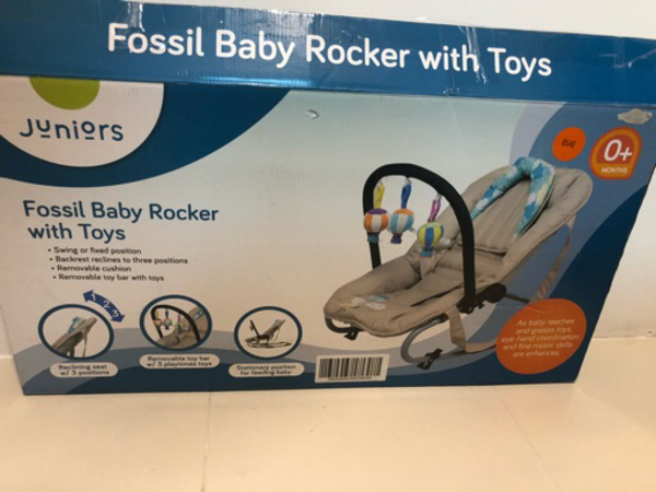 Used Fossil Baby Rocker with Toys (JUNIORS) in Dubai, UAE
