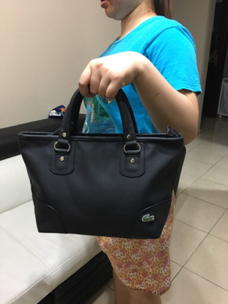 Used Lacoste Medium Authentic Bag in Dubai, UAE