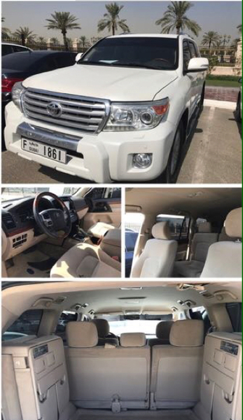 2013 Land Cruiser In Top Mint Condition. Given Price Is Final. Come Have A Test Drive. V6 EXR MID OPTION. 056-9007868
