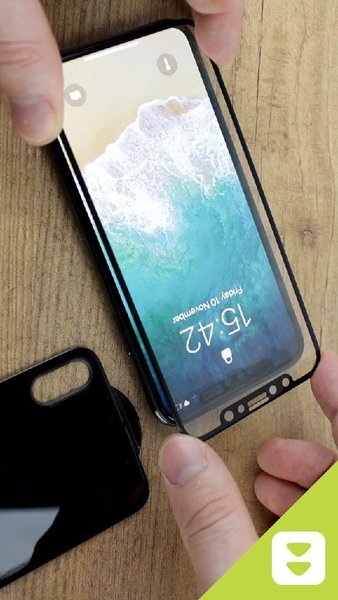 Used IPHONE X FRONT AND BACK CLASS BLACK in Dubai, UAE