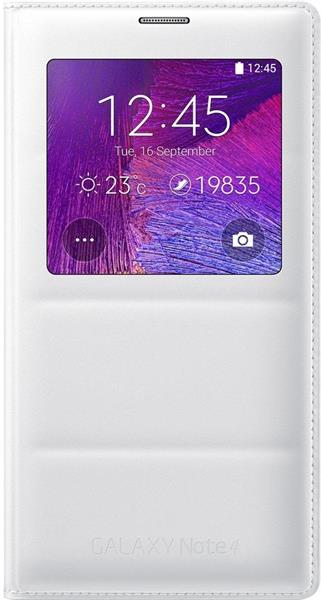 Used SAMSUNG GALAXY NOTE 4 WHITE With 1 Flip Cover Orginal New It's Fixed Price in Dubai, UAE