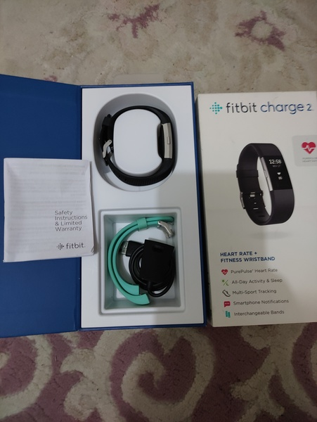 Used Fitbit charge 2 HR in Dubai, UAE