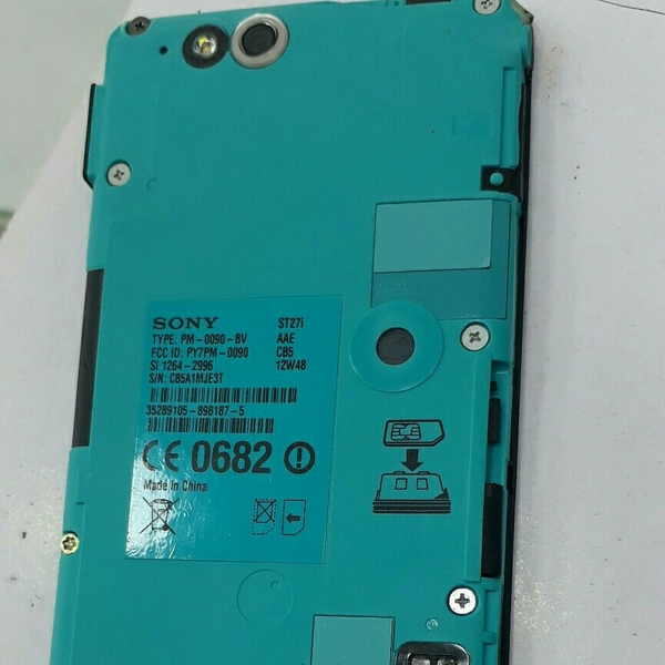 Used Sony Used Mobile. ST27i Good Coundition.  in Dubai, UAE