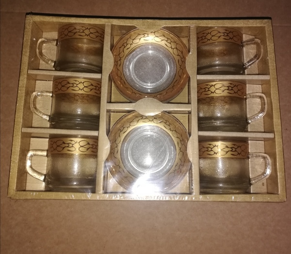 Used New cup and saucer set.      ^ in Dubai, UAE