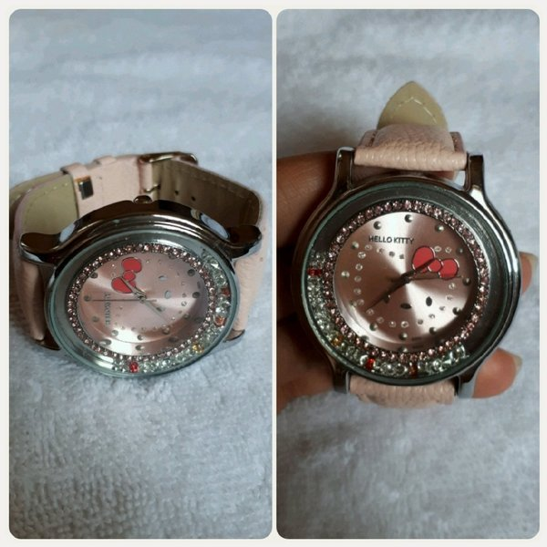 Used Pink watch hello kitty fashionable New in Dubai, UAE