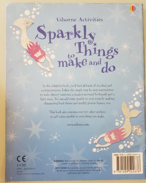 Used Usborne sparkly things to make and do in Dubai, UAE