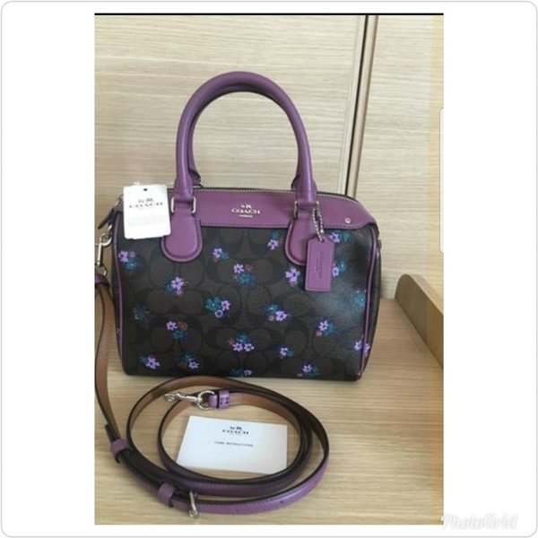Used Authentic coach mini bennet floral bag in Dubai, UAE