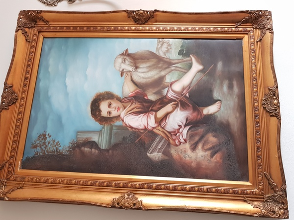 Used 3 painting with frame in Dubai, UAE