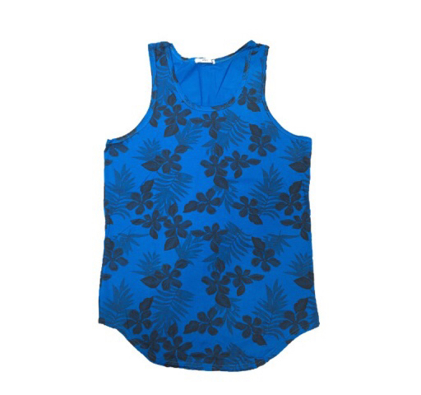 Used Vest - Flower (Blue) in Dubai, UAE