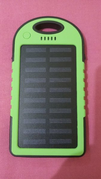 Used Solar Charger # Never used #waterproof in Dubai, UAE