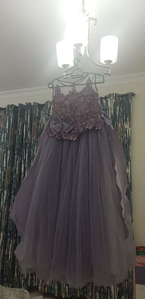 Used Party wear Gown 6 to 8yr old in Dubai, UAE