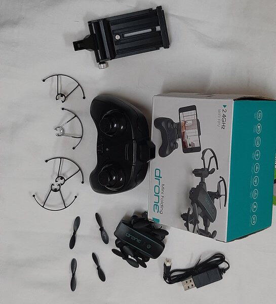 Used Mini folding drone ! in Dubai, UAE
