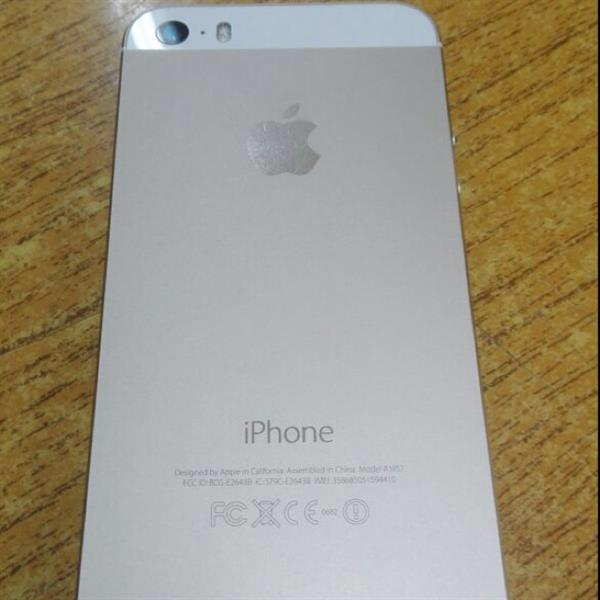 Used Iphone 5s 16gb Gold Color With Charger Only And Fingerprint Disabled  in Dubai, UAE