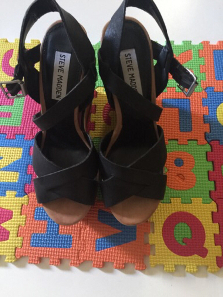 Used Steve Madden wedge sandal in Dubai, UAE
