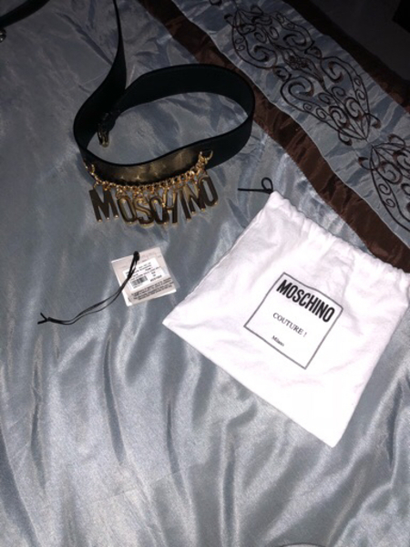 Used Moschino never worn new  in Dubai, UAE