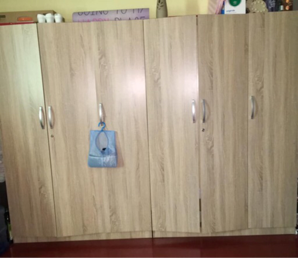 Used 6 door wardrobe in Dubai, UAE