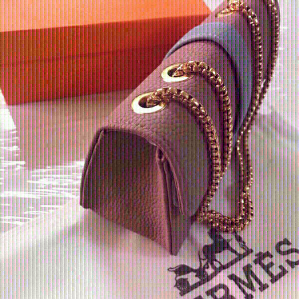 Used Hermes pink bag  first class copy  in Dubai, UAE