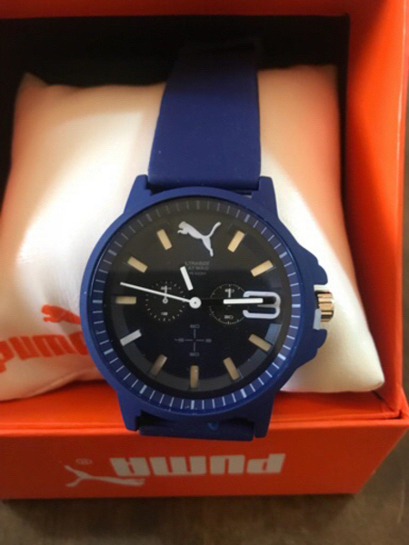 Used Puma watch dark blue - last price today in Dubai, UAE