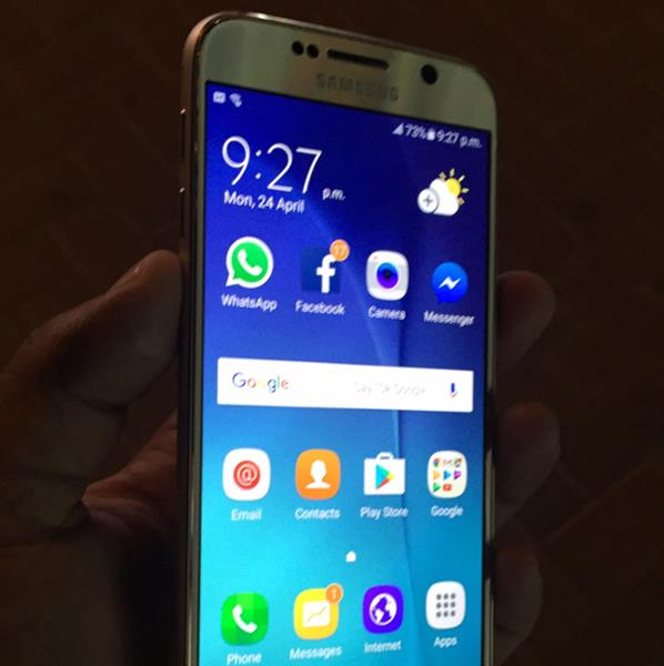 Used Samsung Galaxy S6 32gb gold Orginal Used Complet Box in Dubai, UAE