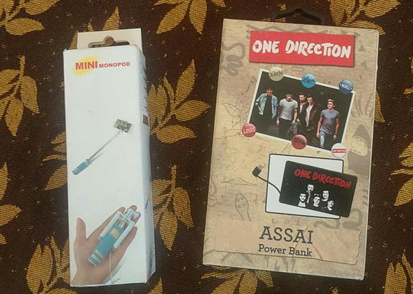 Used Never Used Powerbank And Selfie Stick For Urgent Sale.  Unwanted Gift in Dubai, UAE