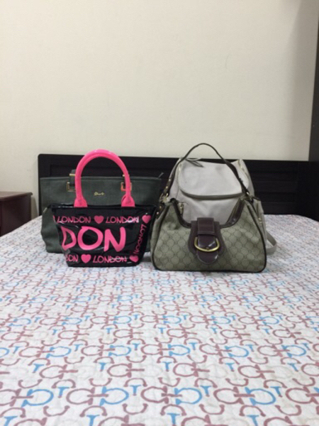 Used 4 pcs preloved Bags with one price😍 in Dubai, UAE