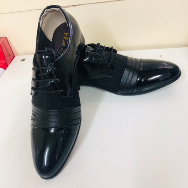Used New Jingpin Black Tie Up Shoe | Size 44 in Dubai, UAE
