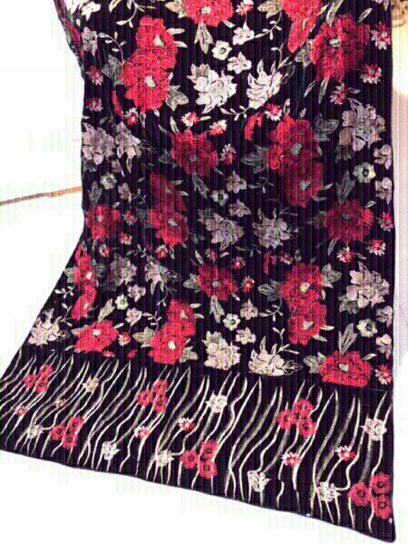 Used Velvet Embroidered Shawl in Dubai, UAE