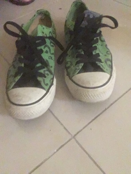 Used Limited edition Converse: Riddler in Dubai, UAE