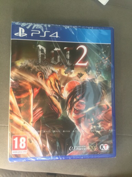 Used PS4 AOT new released in Dubai, UAE