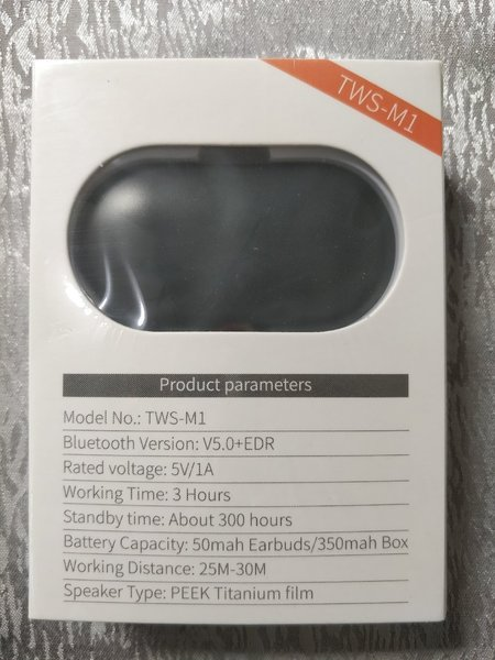 Used NEW TWSM1 WIRELESS EARPHONES 💢 in Dubai, UAE