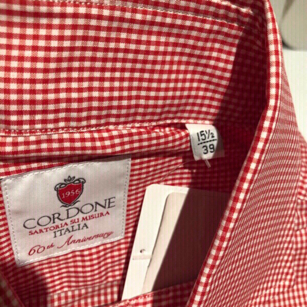 Used CORDONE Italia Shirt size 39/15 1/2 in Dubai, UAE