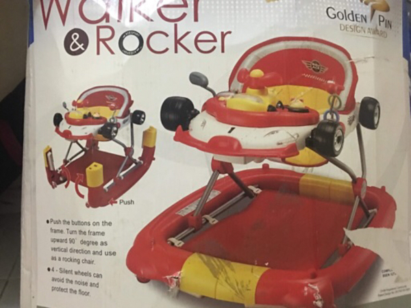 Used Baby walker+rocker in Dubai, UAE